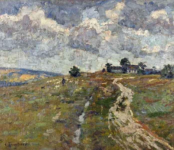 Landschaftsmalerei impressionismus  Treffpunkt-Kunst.net - Gottfried Trimborn